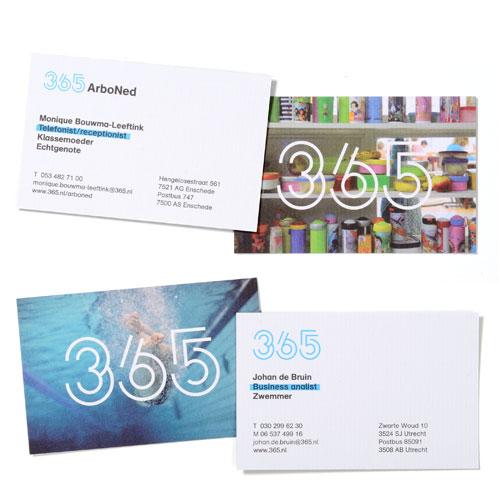 365 - visitekaartjes