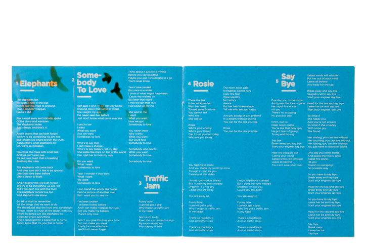 Ruben Hein - Loose Fit - booklet