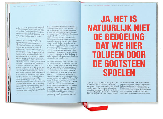 Jubileumboek Hogeschool Utrecht